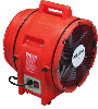 "Allegro 12"" Industrial Plastic Blower (1 Hp, AC, 115/230V, 50/60Hz, 1842 CFM @ Outlet)"