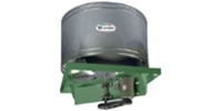 Canarm Ltd. brand Model RB Belt Drive Propeller Up Blast Roof Exhaust Fan Industrial/Commercial Gen. Applic. CFM Range: 6,261-61,562