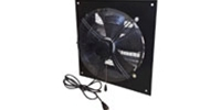 "Canarm Ltd. brand Model XFS Series Commercial Direct Drive Wall Exhaust Fan CFM Range: 800-4700 (Sizes 12"" thru 24"")"