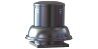 Soler & Palau USA brand Model SDB Belt Drive Centrifugal Down Blast Roof Exhaust Fan Gen. Application CFM Range: 300-4,135