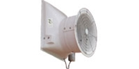 "VES Environmental brand AFR (Single/Var. Speed) Fiberglass Direct Drive Industrial and Agricultural Wall Exhaust Fan CFM Range: 1,600-11,700 (Sizes 12"" thru 36"")"