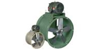 Belt Drive Heavy Duty Tube Axial Duct Fan Manufactured by Canarm Ltd.