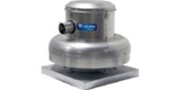 "Canarm Ltd. brand Model A2X Direct Drive Centrifugal Down Blast Roof or Sidewall Mount Exhaust Fan CFM Range: 660-3,260 @ 0"" S.P."