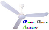 "Model #L-148-R Commercial Ceiling Fan (48"" Reversible, 20,850 CFM, 5 Yr Warranty, 120V) $111.75"