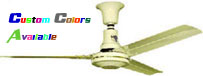 "Model #S-548-R Agricultural Ceiling Fan (48"" Reversible, 21,000 CFM, 6 Yr Warranty, 120V) $154.50"