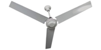 "TPI Corporation Model #HDHR-56WR White Agricultural Variable Speed Ceiling Fan (56"" Downflow, 7,000 CFM, 6 Yr Warranty, 120V)"