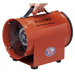 "Allegro 8"" COM-PAX-IAL Blower (1/3 Hp, AC or DC, 778 CFM @ Outlet)"