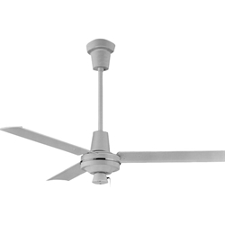 "Leading Edge Model #48203 White Commercial Ceiling Fan (48"" Downflow, 21,000 CFM, 3 Yr Warnty, 120V, 3-Speed Pull Chain)"