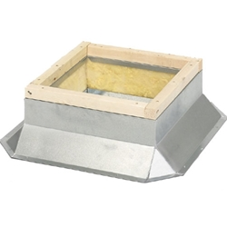 Soler & Palau USA brand Roof Mounting Curb for KSF Filtered Roof Supply Fan