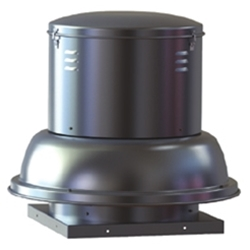 Soler & Palau USA brand Model SDB Belt Drive Centrifugal Down Blast Roof Exhaust Fan Gen. Application CFM Range: 2,993-9,287