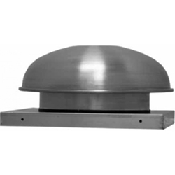 Soler & Palau USA brand Model LPD Low Profile Direct Drive Centrifugal Down Blast Roof or Sidewall Mount Exhaust Fan General Applic. CFM Range: 302-387