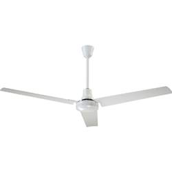 "Canarm Ltd. Model #CP60 HPWP White Heavy Duty Industrial and Agricultural Variable Speed Ceiling Fan (60"" Reversible, 46,000 CFM, 3 Yr Warranty, 120V)"